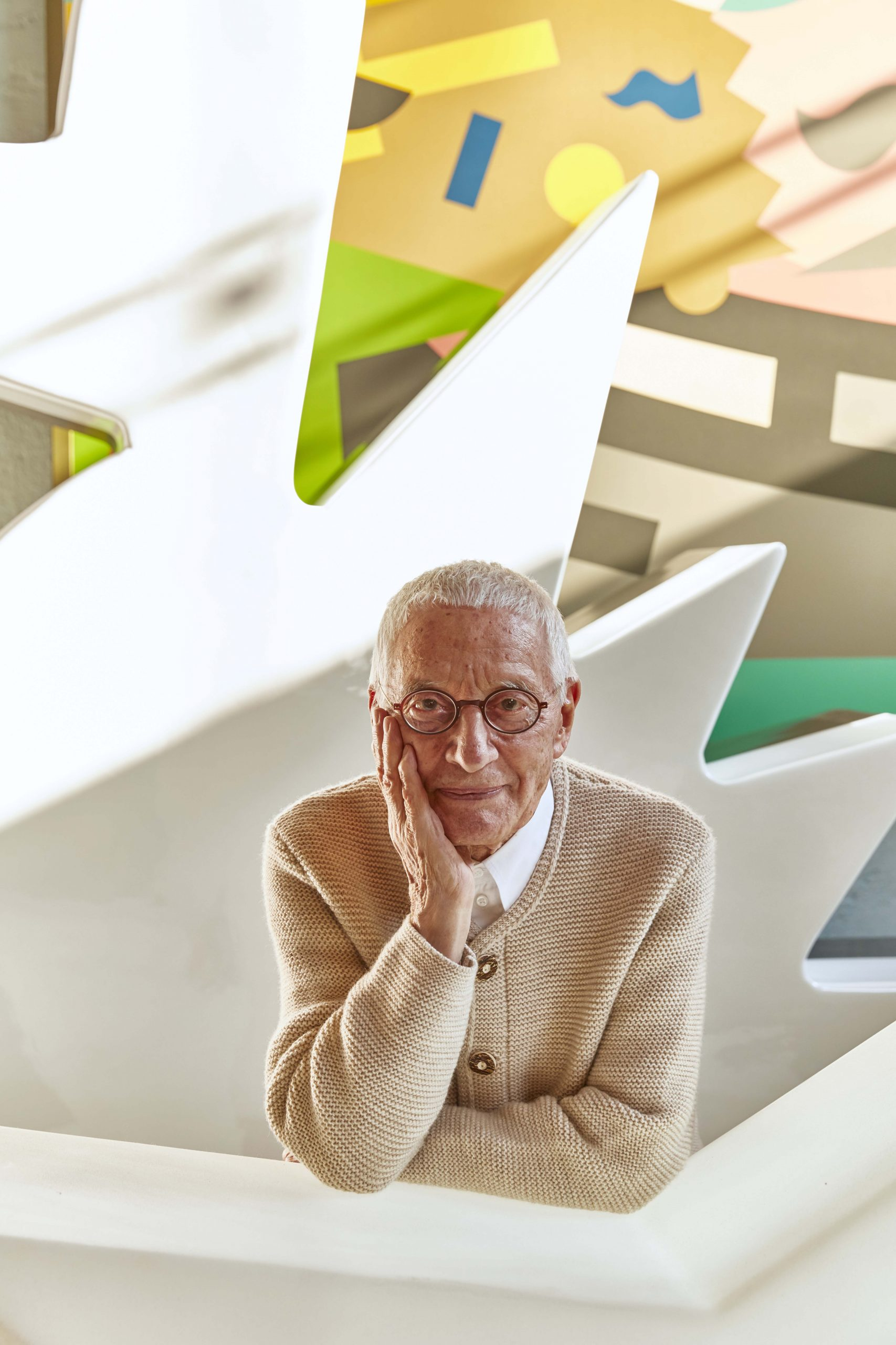 Portrait of Alessandro Mendini by Rama Lee for Style H