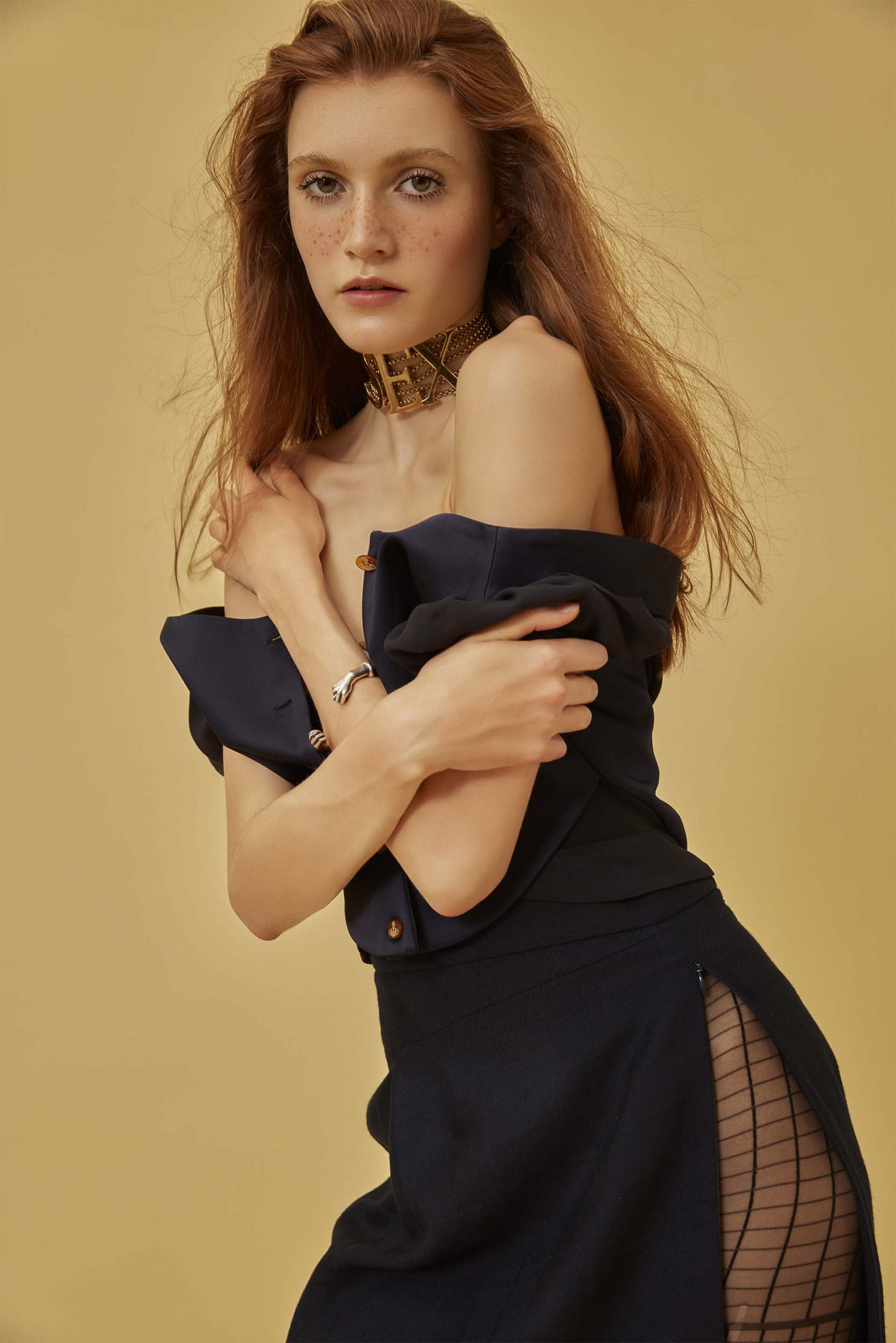 Talia Mather by Rama Lee for Verve Book - Vivienne Westwood Special