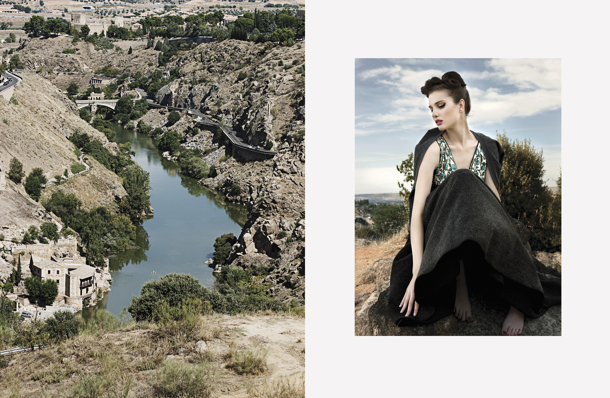 Fashion Editorial in Toledo for AvenueL magazine by Rama Lee